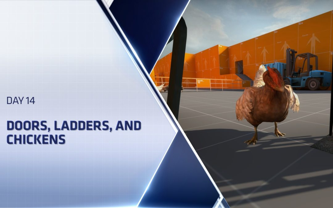 CSGO Level Design Boot Camp – Day 14 – Doors, Ladders, and Chickens