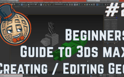 3dsmax Tutorial – Beginners Guide #2 – Creating and Editing Geometry
