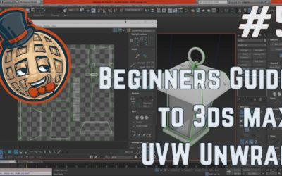 3dsmax Tutorial – Beginners Guide #5 – UVW Unwrap Modifier